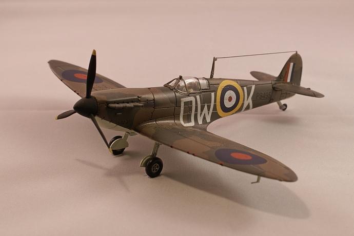 Hangar 001 spitfire mk1