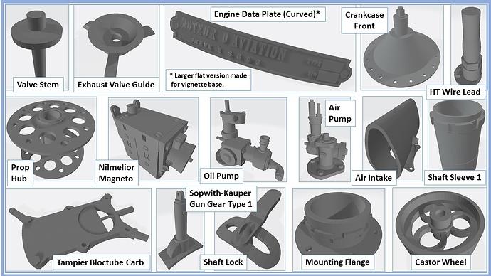 062 3D Parts Collage