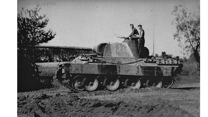 PR GD Tank 345 Summer 1944