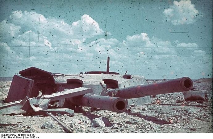 Sevastopol_Destroyed_Artillery,_1942