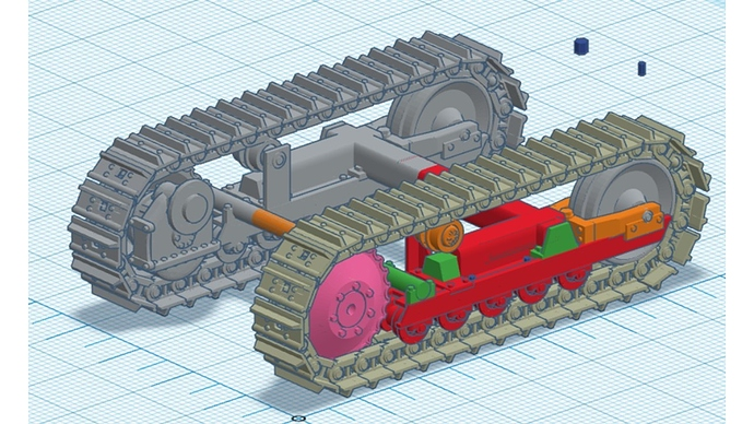 M450 Dozer Suspension and Chassis