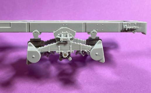 US Diamond T 968 frame assembly (4)