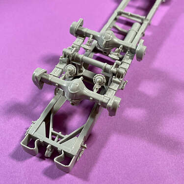 US Diamond T 968 frame assembly (2)