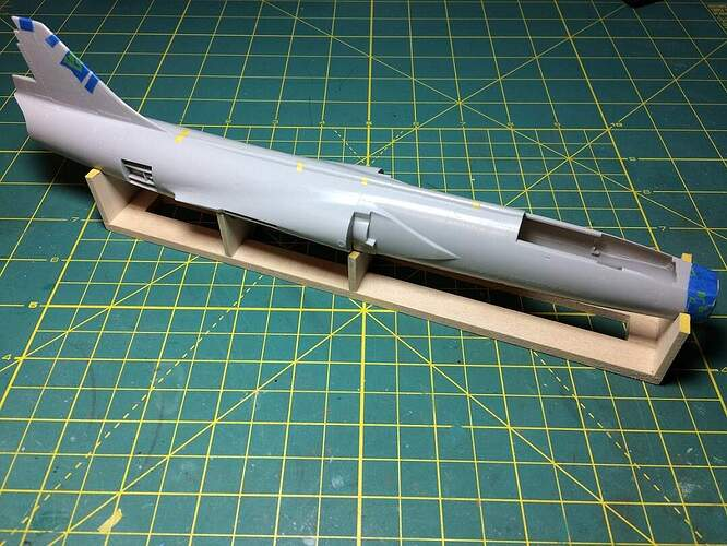 Shored Fuselage