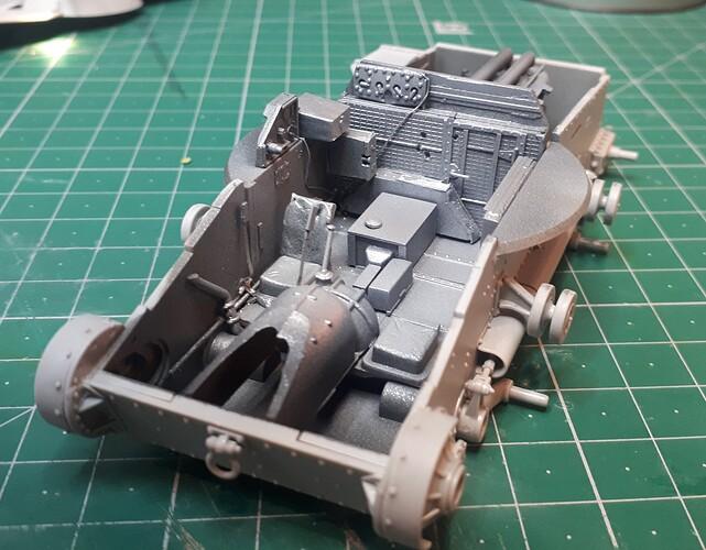 First Aluminium on interior