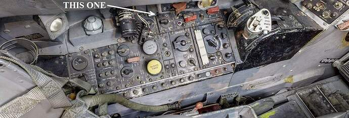 Left Cockpit Panel Instruments