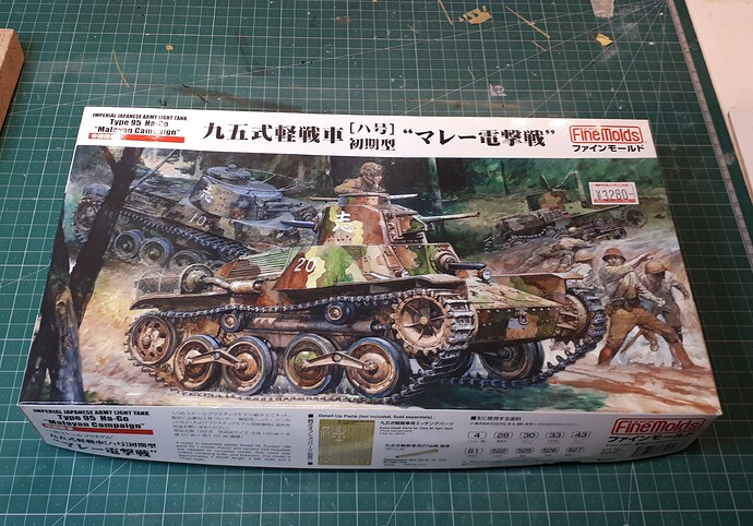 FineMolds Type 95 Ha-Go 'Malayan Campaign'