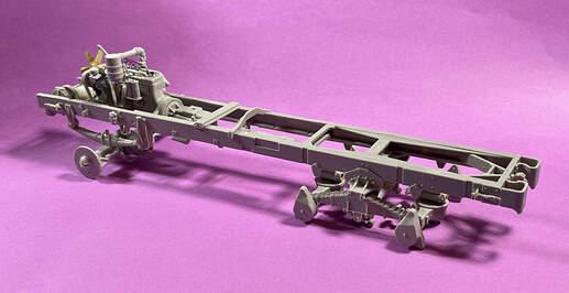 US Diamond T 968 frame assembly (1)
