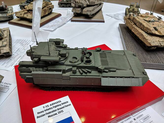 T-15 Armata 2018 AMMS