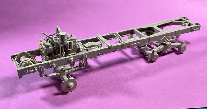 US Diamond T 968 frame assembly