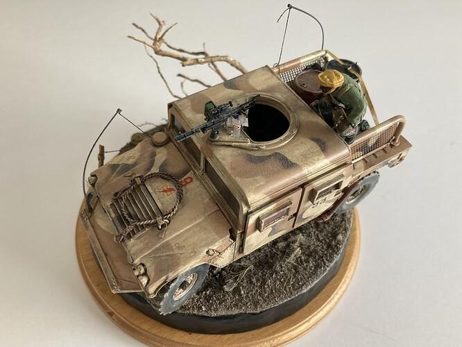 MRAP Humvee