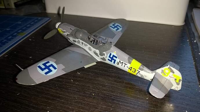 Bf-109 G-6 Mersu