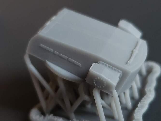 Model Monkey 1-350 RN Pola 203 mm Turrets f