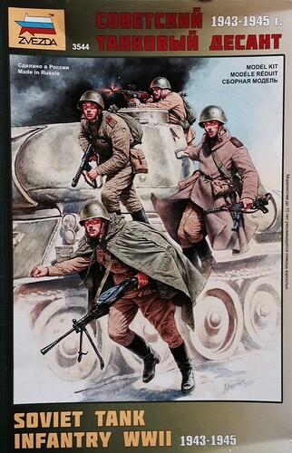 Zvezda (3544) Soviet Tank Infantry