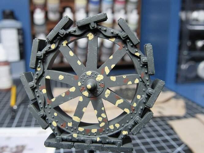 10 - Wheel chipping