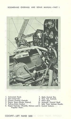 Boomerang Overhaul And Repair Manual RAAF Image 4