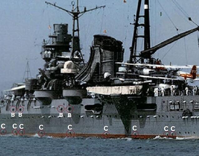Mogami Port Details 1935