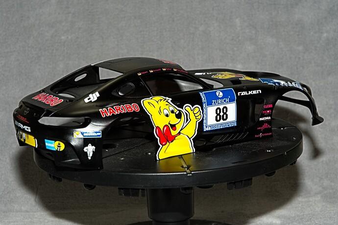 Tamiya 2016 haribro Mer AMG GT3 6 18 5