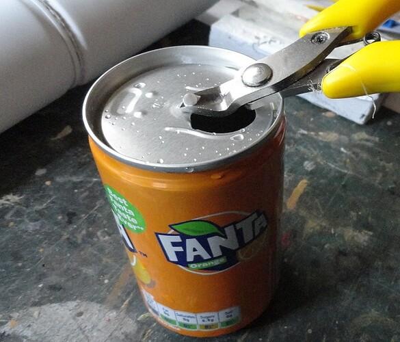 fanta mini can