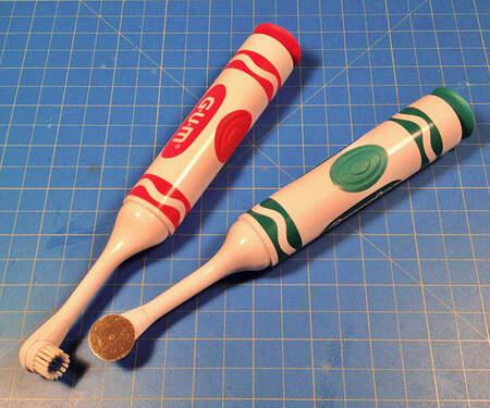 GUM Crayola – Electric Toothbrush Sander