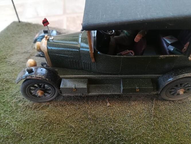 Monocycle & Morris Staff Car (9)