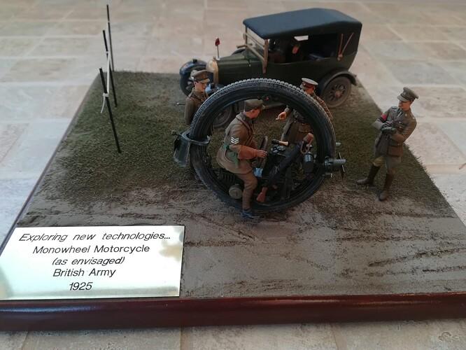 Monocycle & Morris Staff Car (2)
