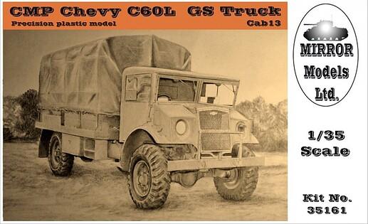 Mirror Models (35161)CMP Chevy C60L GS Truck Cab 13