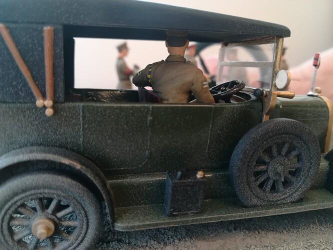 Monocycle & Morris Staff Car (11)