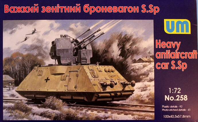 Flak Railcar 022