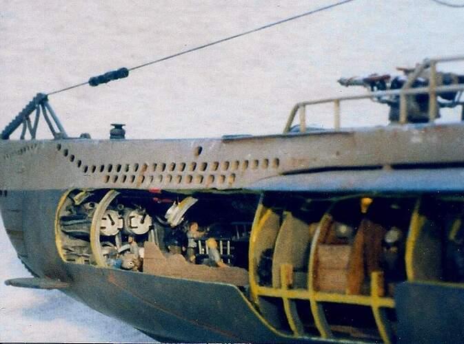 007 U-99 Torpedo Tube Doors
