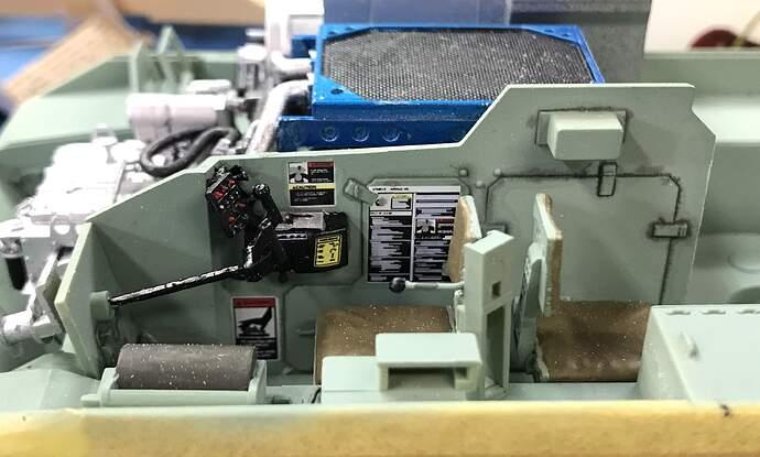 Bradley D Compartment Decals