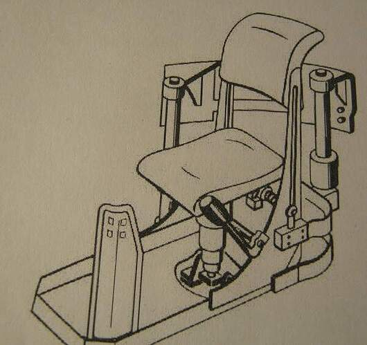 commanders seat drawing