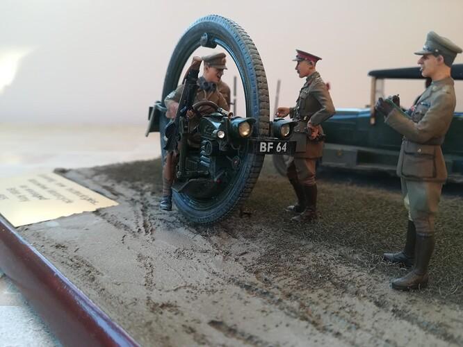 Monocycle & Morris Staff Car (8)