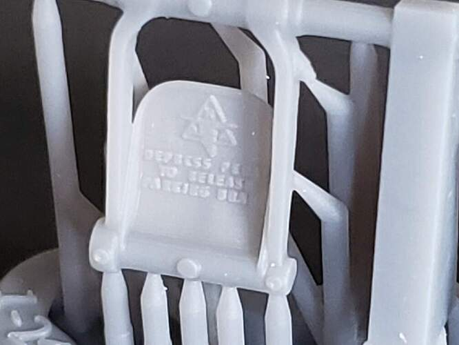 Model Monkey 1-24 P-51 Mustang Rudder Pedals for Airfix c