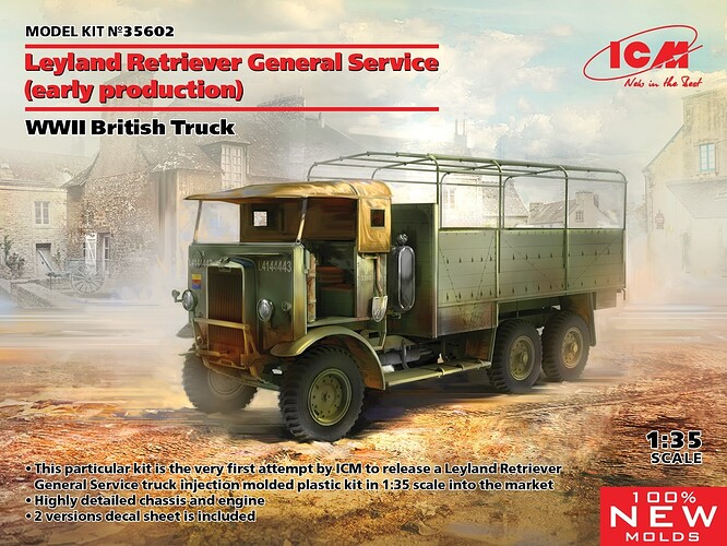 Leyland Retriever General Service (early production)