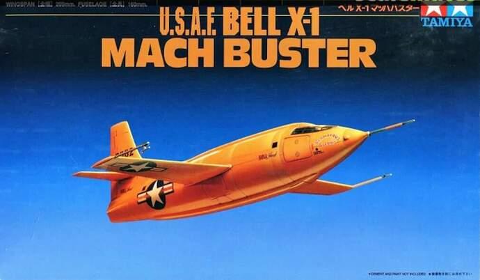 Boxart Tamiya Bell X-1 1-72