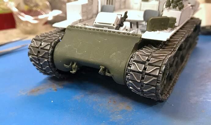 M4A3 Track Install 2