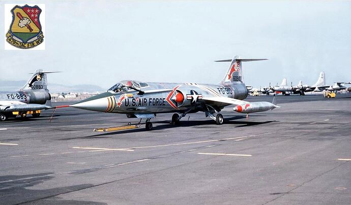 F-104C 1959 George AFB