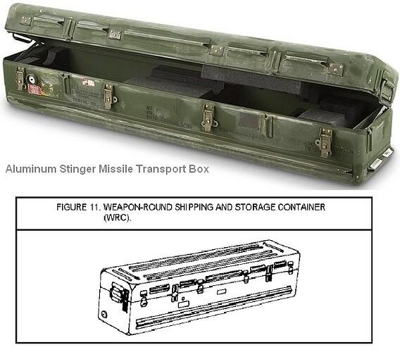 stinger storage box