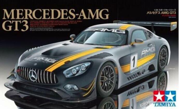 Tamiya Merc AMG GT3 kit box