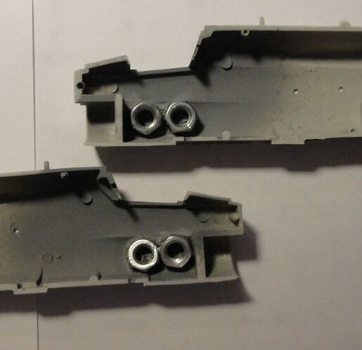 Hasegawa 1-72 A-7A nose weights small