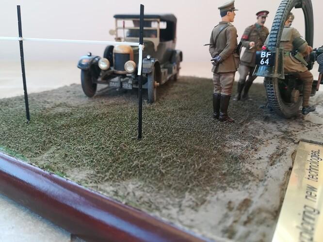 Monocycle & Morris Staff Car (4)