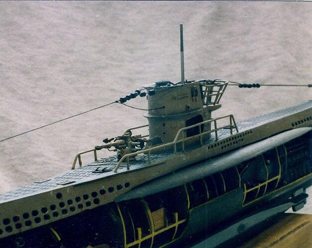 005 U-99 Deck Gun