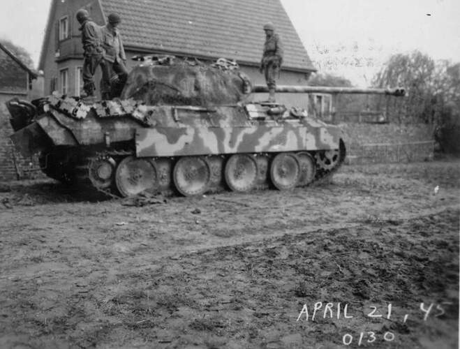 Panther A with IR Rear Box and Mantlet