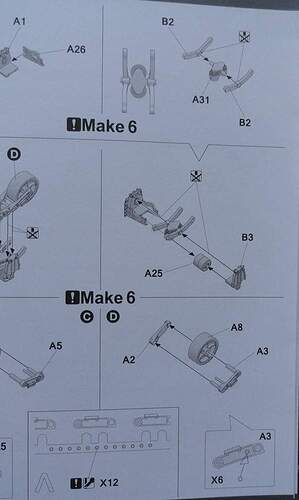 instructions for the bogies