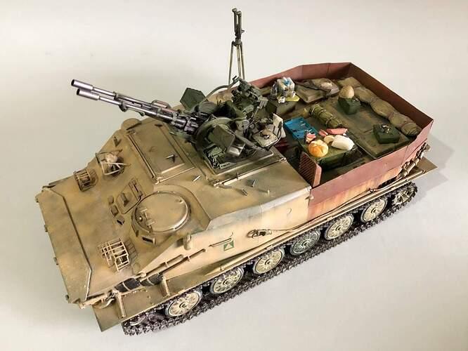 BTR-50 with ZU 23-2 01