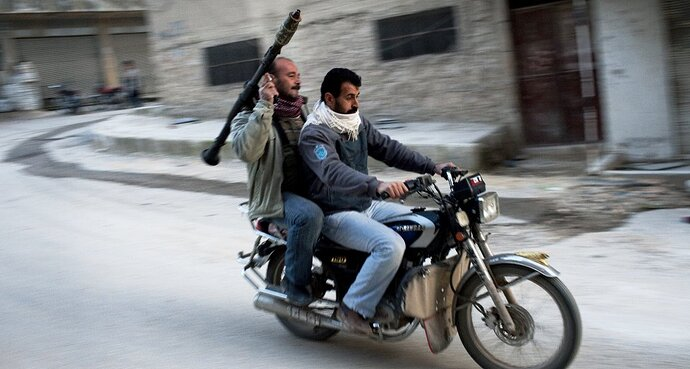 Motorcycle-in-Syria