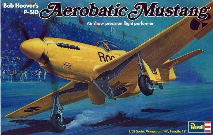 Bob Hoover P-51 Revell