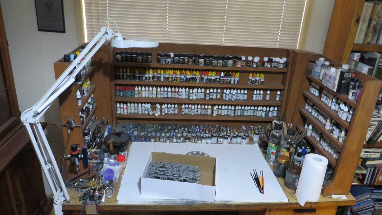 Painting Desk