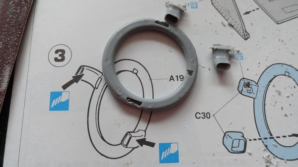 exhaust collector ring b